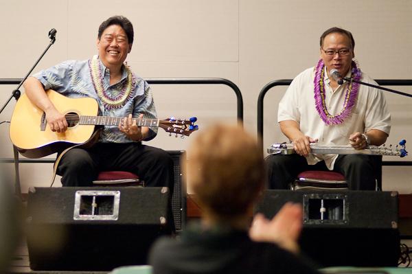Bobby Ingano and Isaac 'Doc' Akuna