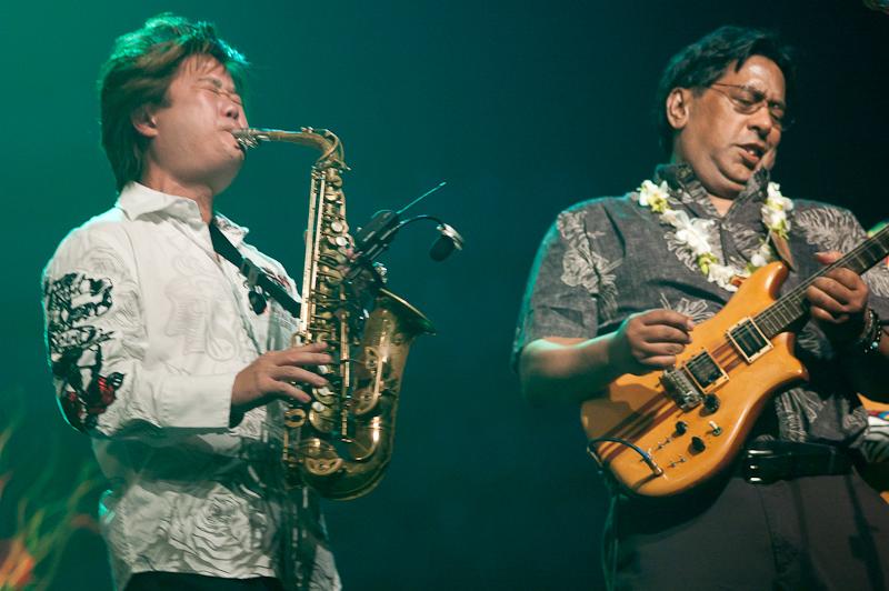DJ Pratt & Saxophonist Todd Yukumoto