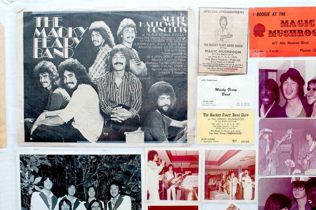 Mackey Feary Band Memorabilia