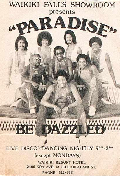 "Paradise band Hawaii ""Be Dazzled"""