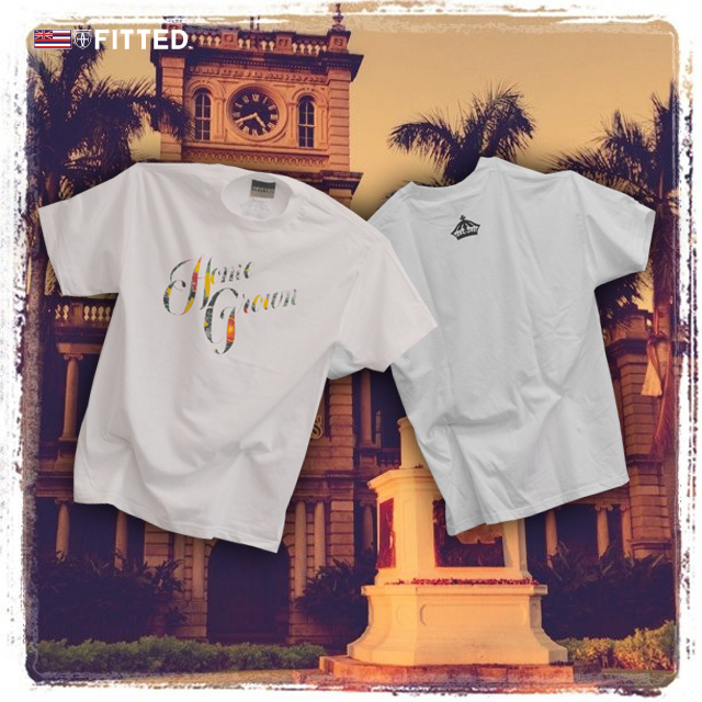 Homegrown tee by Fitted Hawaii