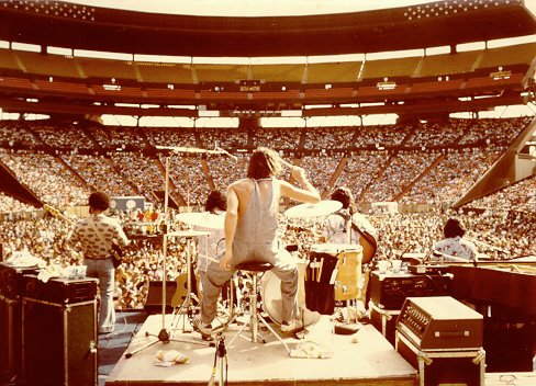Summer at Aloha Stadium, 1977, with Kalapana and C&K