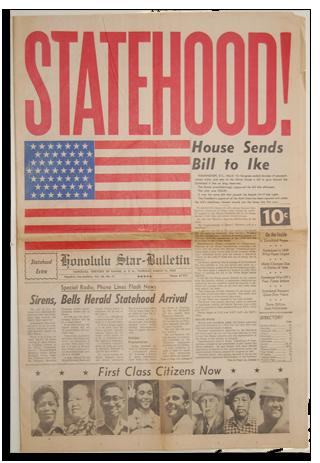 Hawaii Statehood, 1959