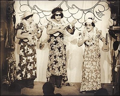 Rap (far right) with Booga Booga
