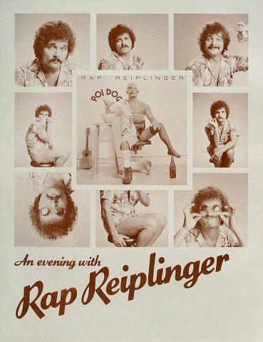 An evening with Rap Reiplinger poster