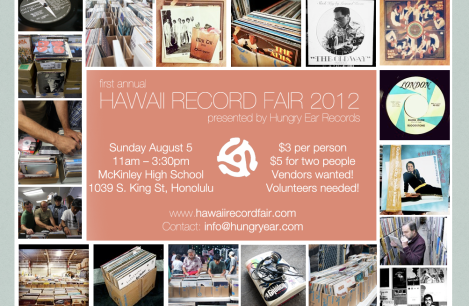 Hawaii Record Fair 2012