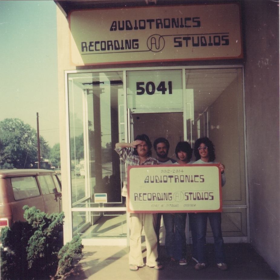 Audiotronics Recording Studio, Covina, California.