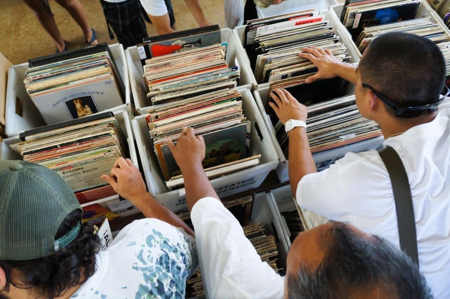 Digging for vinyl gems at the Hawaii Record Fair