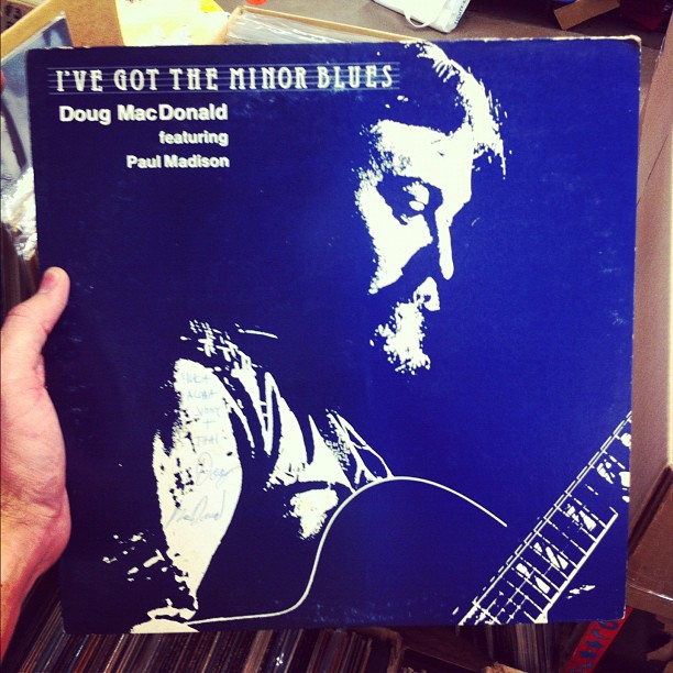 A rare Hawaiian jazz record by Doug MacDonald.