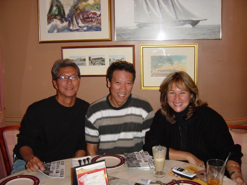 Meeting the members of George Street in Honolulu.