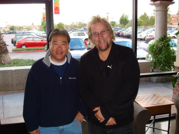 Lance Jyo and AOR musician David Pack.