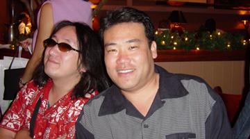 Toshi Nakada and Lance Jyo