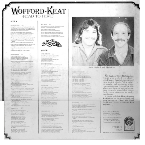 Wooford-Keat Road To Home LP