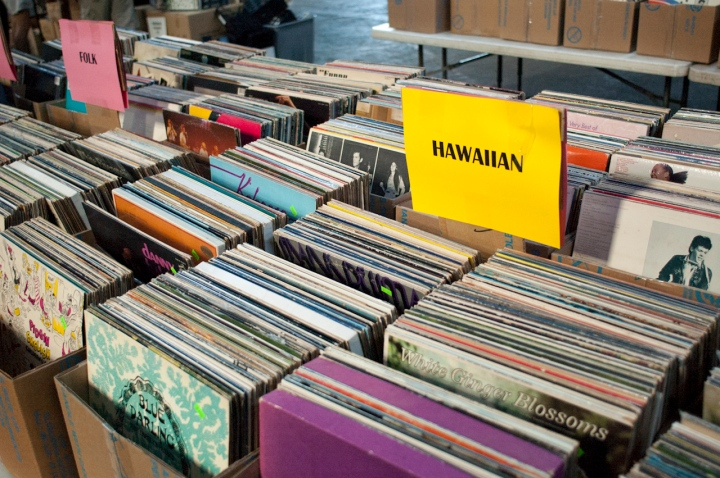 Few people touched the Hawaiian section... Thoughts on Record Collecting in Hawaii