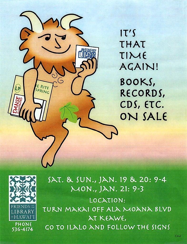 The FLH Sale runs Jan 19th - 21st. Doors open 9:00am!