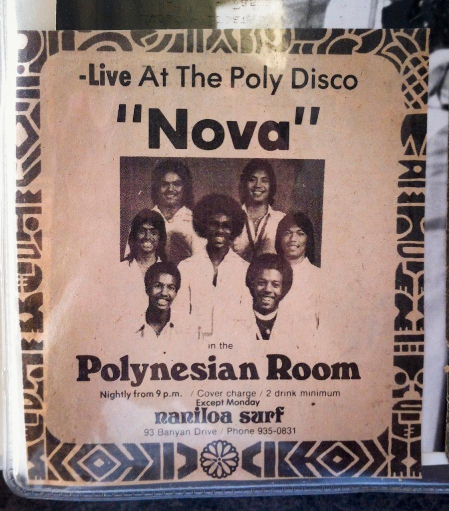 Nova, live at the Polynesian Room, Naniloa Surf.
