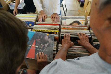 Hawaii Record Fair (photo taken July 2012)