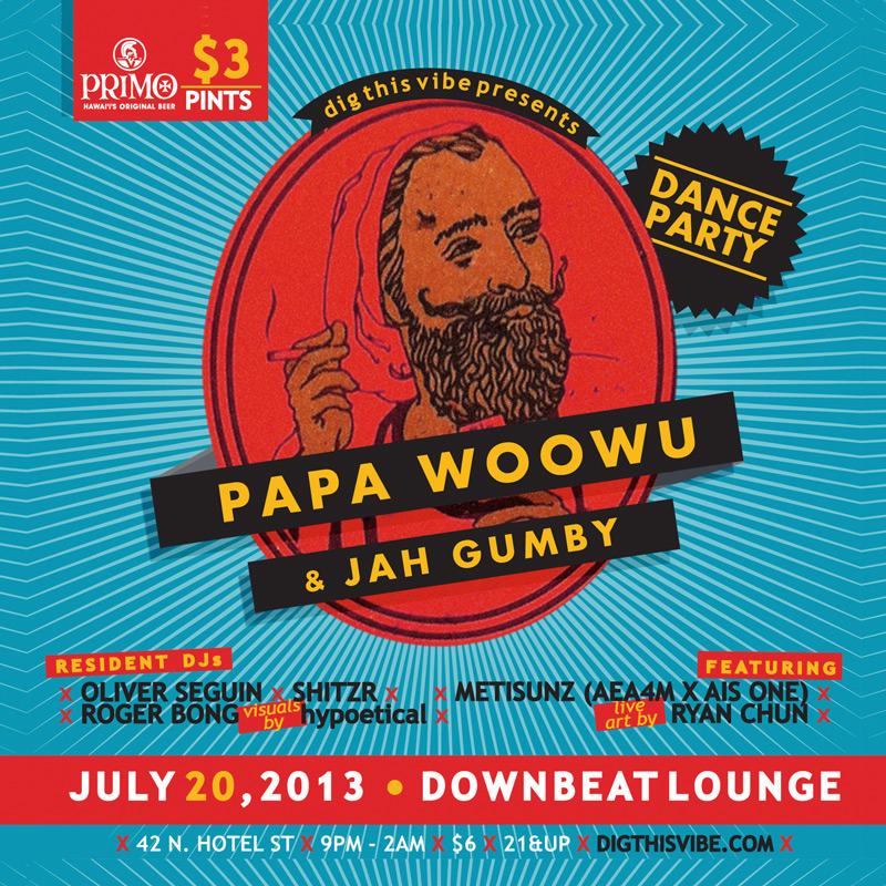 Dig This Vibe: Papa Woowu & Jah Gumby