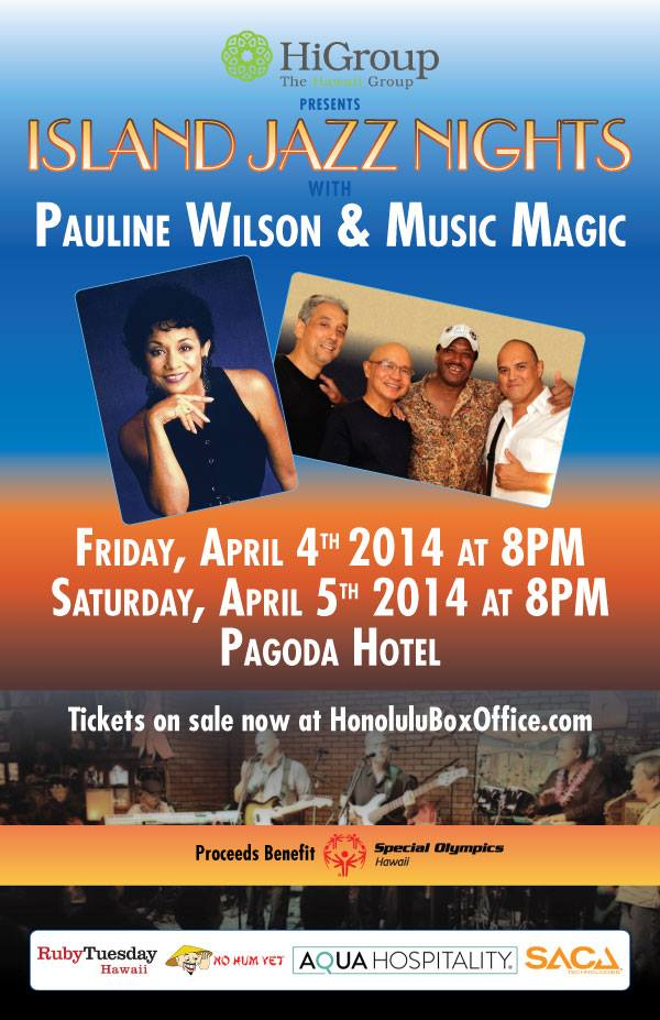 Island Jazz Nights presents Pauline Wilson and Music Magic
