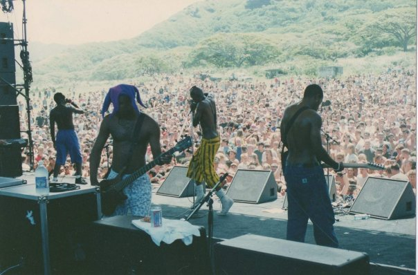 Fishbone at The Big Mele in 1992.