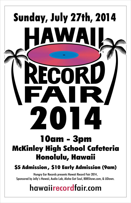 Hawaii Record Fair 2014