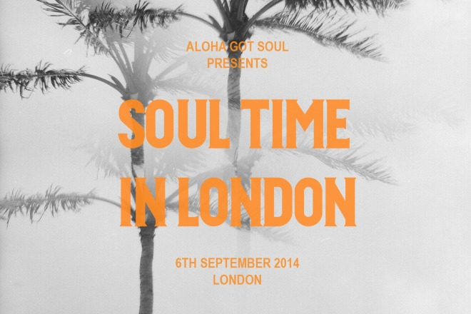 soul time in london september 2014