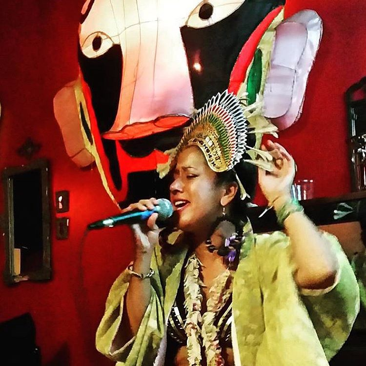 Amalia at Motown On Mondays Honolulu, August 2015.