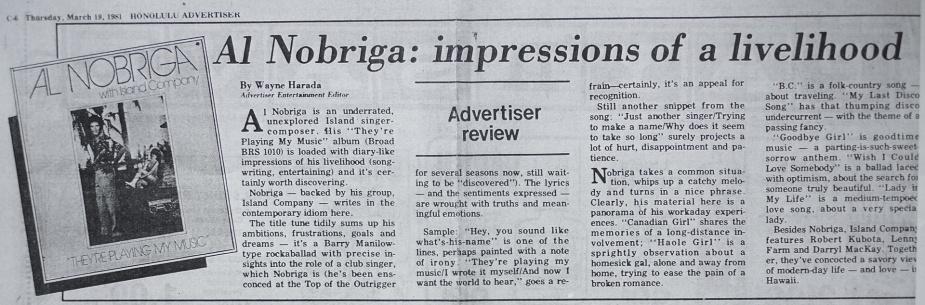 Al-Nobriga-Island-Company-LP-review